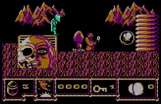 Atari XL Pantheon Darkness Hour