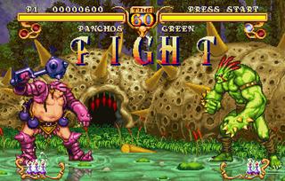 Sega Saturn Golden Axe Duel