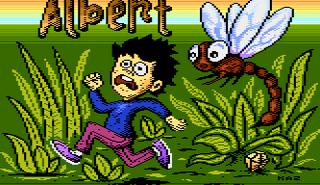 Atari XE Altirra Albert Intro