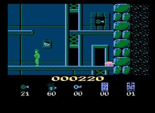 Atari XE Altirra Hans Kloss