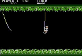 Apple II AppleWin Jungle Hunt