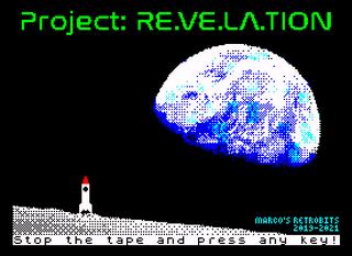 ZX Spectrum Spectaculator Project: RE.VE.LA.TION