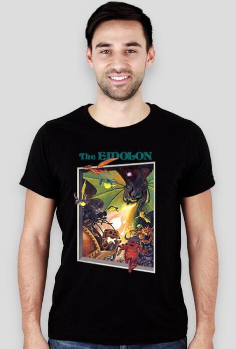 Retro T-Shirt Eidolon Cover C64 - męski podkoszulek