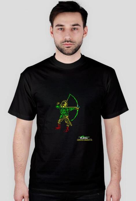 Retro T-Shirt Robin of the wood ZX Spectrum Element - męski podkoszulek