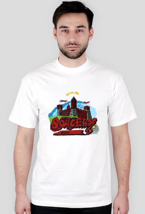 Retro T-Shirt Sorcery Bajtek 1987 - męski podkoszulek