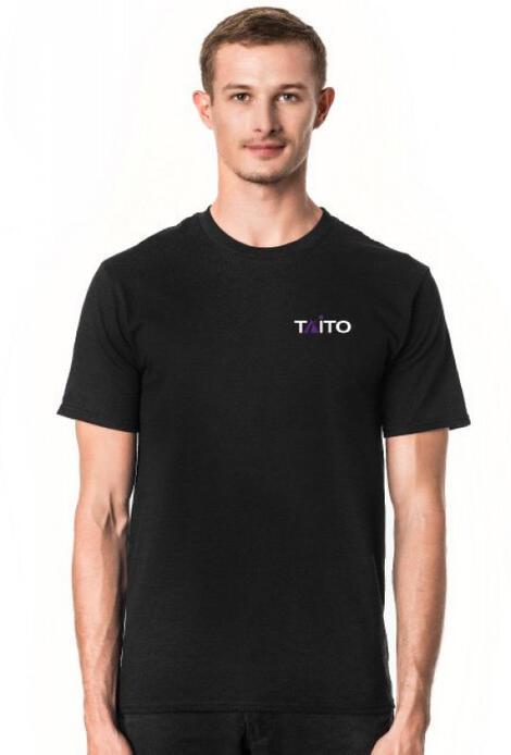 Retro T-Shirt Taito Logotype   - męski podkoszulek