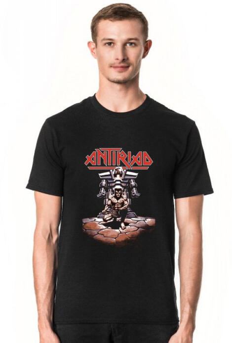 Retro T-Shirt The Sacred Armour of Antiriad ZX Spectrum Element - męski podkoszulek