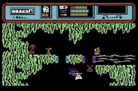 C64:Commodore:CBM:Vice:StarQuake:Bubble Bus Software:Bubble Bus Software:1984: