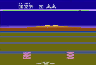 VCS:Atari:2600:Stella:Buck Rogers: Planet of Zoom:SEGA Enterprises, Inc.:SEGA Enterprises Ltd.:1983: