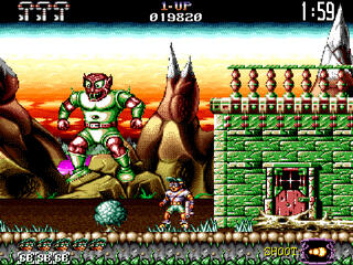 "Amiga:TheCompany:Jim Power in ""Mutant Planet"":LoricielSA:DigitalConcept, LoricielSA:1992:"