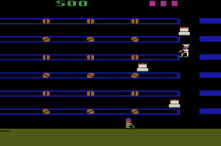 VCS:Atari:2600:Stella:Cakewalk (a.k.a. Bakery):CommaVid, Inc.:CommaVid, Inc.:1983: