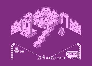 Atari:XE:XL:800:Retro:VIP:Alien 8
