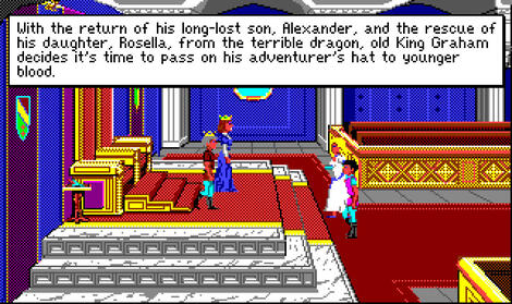 Amiga:TheCompany:King\'s Quest IV: The Perils of Rosella:Sierra On-Line, Inc.:Sierra On-Line, Inc.:1990: