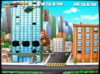 Arcade:Mame:Plus:0.154:Rampage:World Tour:Midway Games:1997: