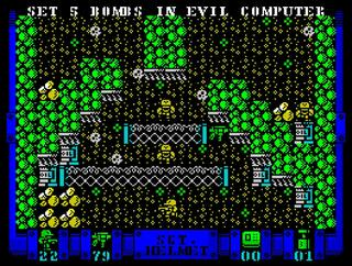 ZX Spectrum:Retro:MojoTwins:Sgr. Helmet Training Day:2014: