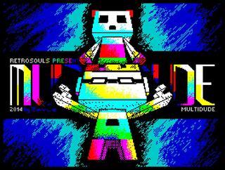 ZX Spectrum:Retro:Multidude:Retrosouls:2014