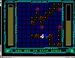 ZX Spectrum:Retro:Intergalactic Space Rescue:Cyningstan:Damian Walker:2013