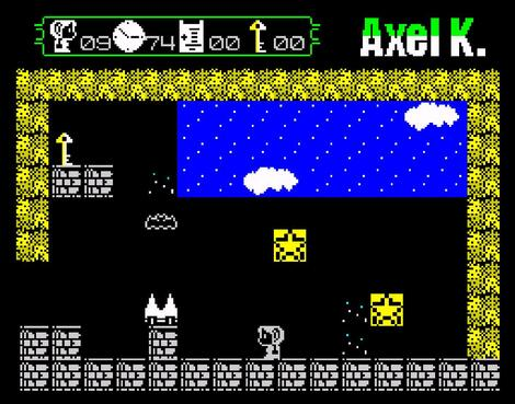 ZX Spectrum:Retro:Axel K And The Lost Bills:Ring:2013: