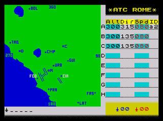 Retro - Air Traffic Rome (ZX Spectrum 16kB). FUNSPOT.IT, Luca Bordoni, 1987/2014