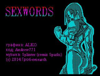 ZX Spectrum:Retro:Sexwords:Grob-Research:2014