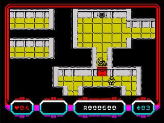 ZX Spectrum:Retro:Escape from Colony 8:Juan J. Martinez:2014:
