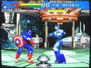 Arcade:Mame:Plus:0.157:Avengers In Galactic Storm:Data East:1996