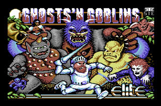 Retro - Ghosts'n Goblins Arcade (Commodore C64). 1986, Elite | Nostalgia, 2015, 2015