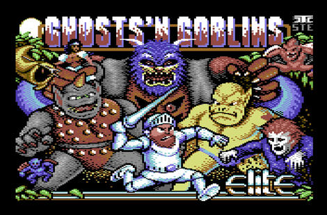 Retro - Ghosts\'n Goblins Arcade (Commodore C64). 1986, Elite | Nostalgia, 2015, 2015