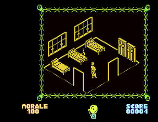 Retro - Great Escape (Atari XE/XL (min. 64kb)). Mariusz W, Port C64 - 2015. Denton Designs, 1986
