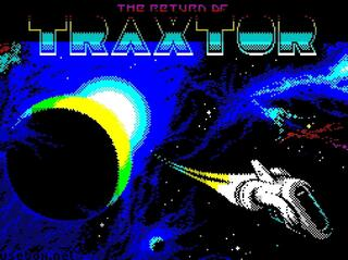 Retro - The Return of Traxtor (ZX Spectrum). Juan J. Martínez, 2015