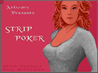 Amiga:Company:Strip Poker - A Sizzling Game Of Chance