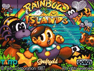 Amiga:Company:Parasol Stars: Rainbow Islands II:OceanSoftwareLtd.:TaitoCorporation:1992: