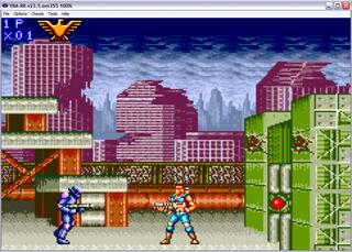 GBA:VBA-RR: Contra Advance - The Alien Wars EX