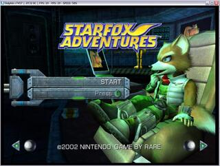 GameCube:Dolphin:StarFox Adventures
