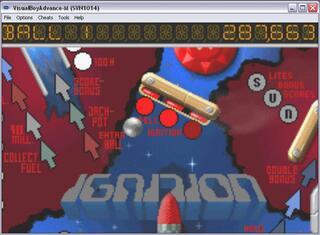 GBA:VBA-M: Pinball Challenge Deluxe