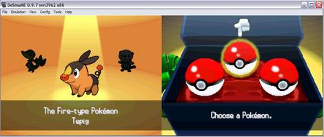 NDS:DeSmuSe:Pokemon - Black Edition