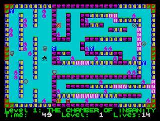 ZX Spectrum:Retro:Deadly Labirynyth of Lord Xyrx:Yerzmey:2013