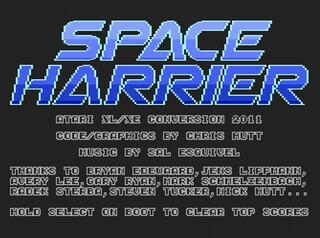 Atari:Altirra:Space Harrier