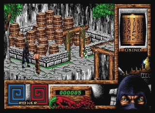 Amiga Winuae The Last Ninja IIISystem 3 Software Ltd.:System 3 Software Ltd.:1991: