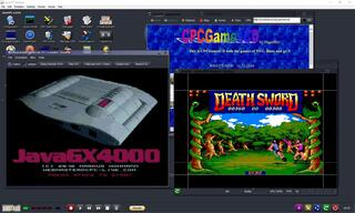 Amstrad CPC JavaCPC Desktop 296