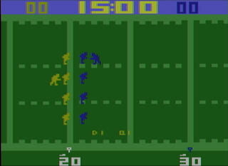 Atari 2600 Stella Fork Super Chalange Football