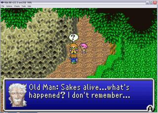 GBA:VBA-RR: Final Fantasy V Advance
