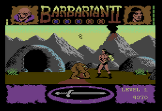 C64 Commodore - Hox64 - Barbarian II
