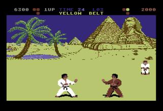 C64 Commodore - Hox64 - International Karate