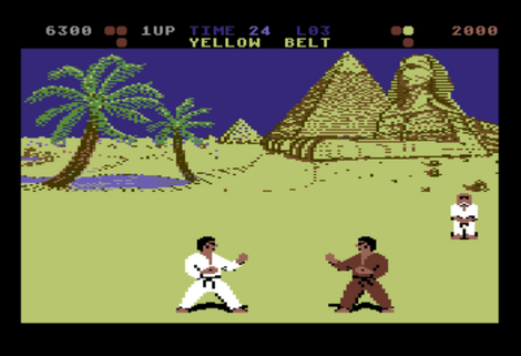 C64 Commodore - Hox64 - International Karate