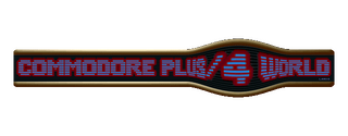 Commodore C plus 4 Gamebase Splash