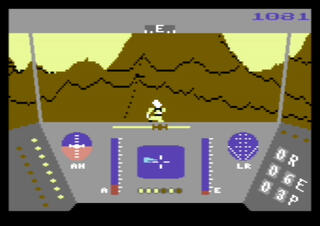 Commodore C64 Vice Rescue On Faractalus