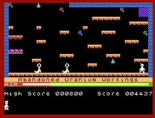 Maniac Miner for Atari XE