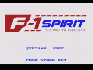 F1Spirit SMS TitleScreen