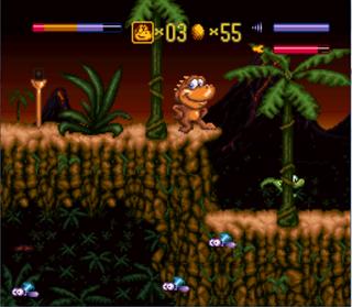Super Nintendo Snes Snes9x Radical Rex 1994
